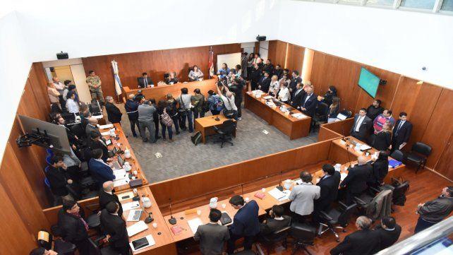 Todos en un lugar. La sala 7 del Centro de Justicia Penal de Rosario