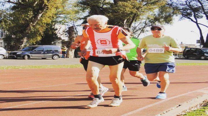 Falleció Sacchi, atleta veterano muy querido