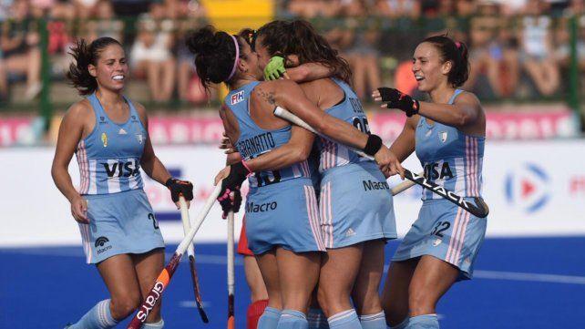 Las Leonas vencieron a China en Rosario por la Pro League