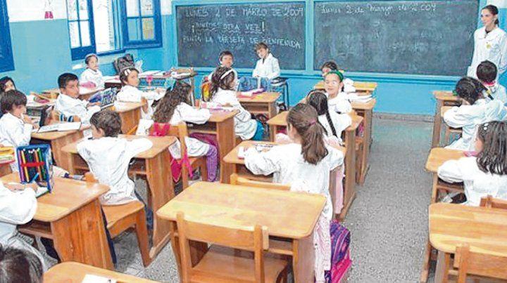Dos días de clase. Los alumnos de escuelas públicas y algunos colegios privados asistirán hoy a las aulas