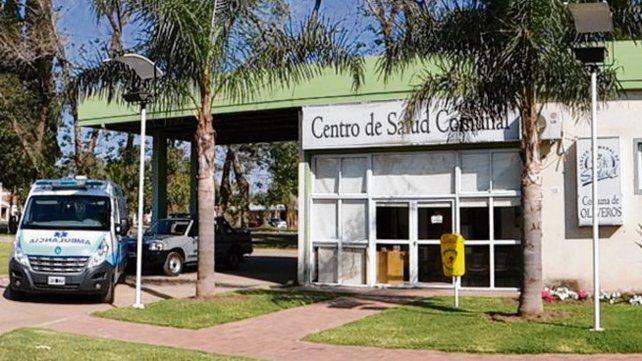El lugar donde trabajó. El centro de salud comunal de Oliveros.