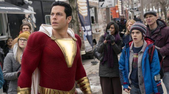 Un héroe distinto. La película se anticipa como una cruza entre Superman y la comedia Quisiera ser grande.