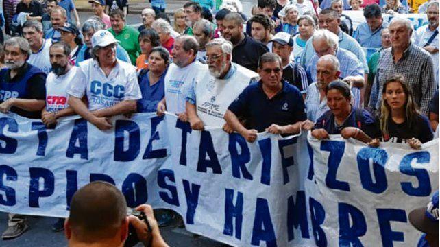 En la calle. Las marchas sindicales del verano fueron multitudinarias.