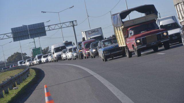 El accidente ocurrió en Circunvalación y Oroño.