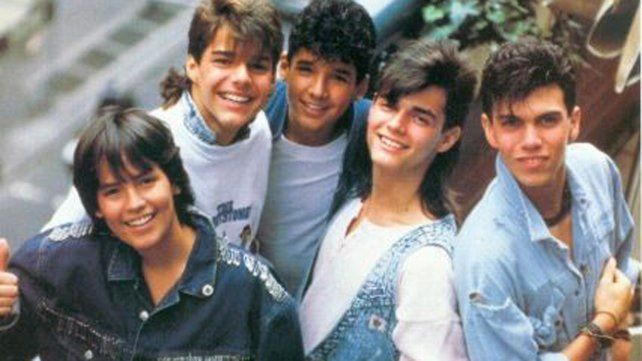Ricky Martin fue parte de la banda Menudo.