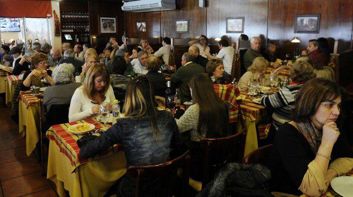 Los empresarios gastronómicos detectan una caída profunda caída de ticket.