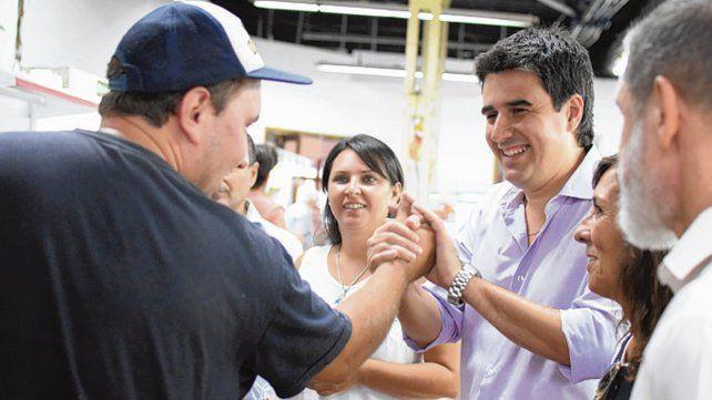 Eduardo Toniolli visitó la empresa Argelec en Rosario.