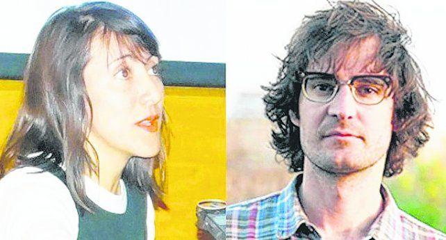 artistas. Gabriela Medrano y Felipe Zegers