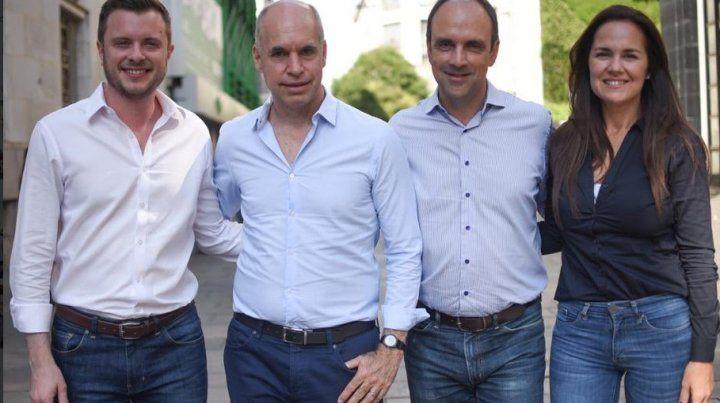 Rodríguez Larreta apoyó a los candidatos de Cambiemos en la provincia