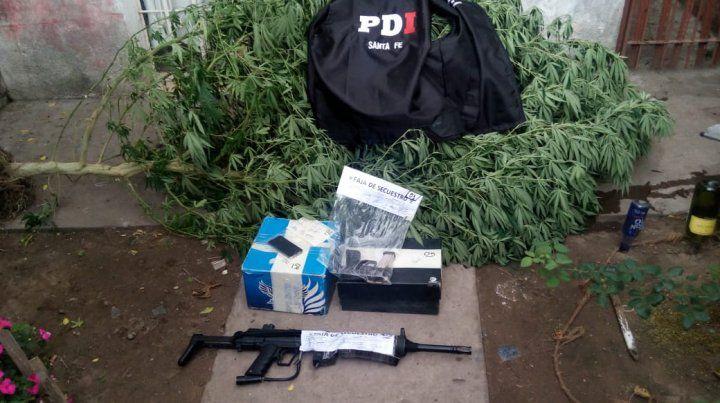 La PDI detuvo a un joven que comercializaba armas por Facebook
