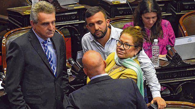 bancadas. Los bloques de la oposición expusieron en Diputados la política de ajuste del gobierno.