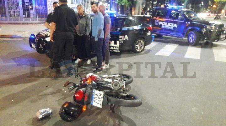 El padre de Messi chocó a un motociclista en zona sur