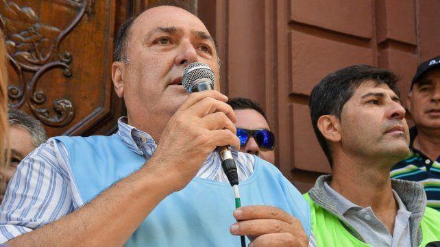 Ratner exigió para los municipales una política salarial para todo el año