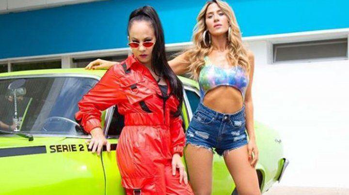 Miss Bolivia y Jimena Barón estrenaron el tema Se quema