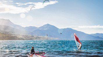 Windsurf en la Patagonia