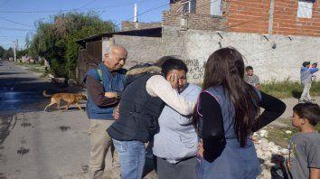 La tía de Soledad recibe el apoyo del personal de la escuela donde concurría la niña y de sus vecinos.
