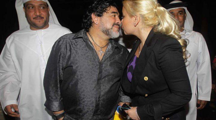 Maradona le pidió a Verónica Ojeda volver a ser novios