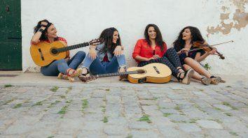 Marta Robles, Alicia Grillo, Bego Salazar y Carol Durán emprenden su primera gira por Sudamérica tras actuar en Corea, Estados Unidos y Europa.