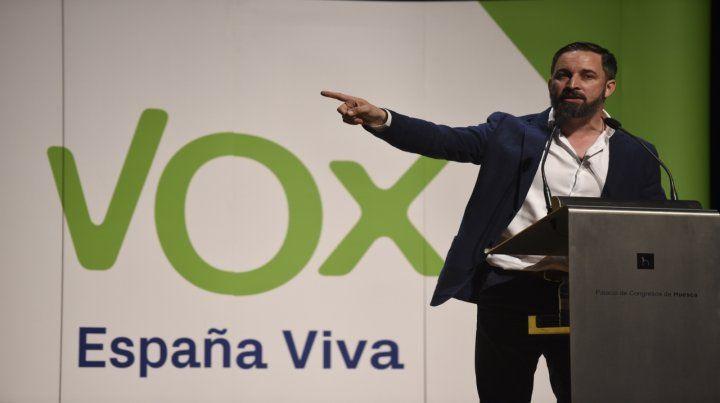 Figura. El presidente y líder de Vox
