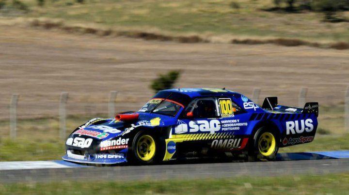 Voló. Ian Reutemann (Humboldt) clavó ayer la segunda pole en cuatro fechas.