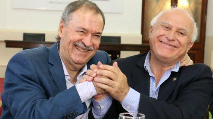 Schiaretti y Lifschitz proyectan un acuerdo federal.