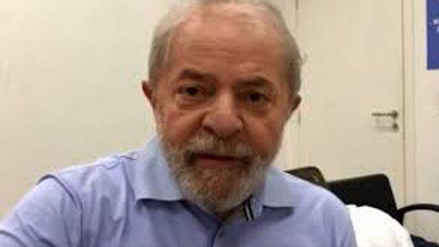 Mensaje de Lula a un año de estar en prisión