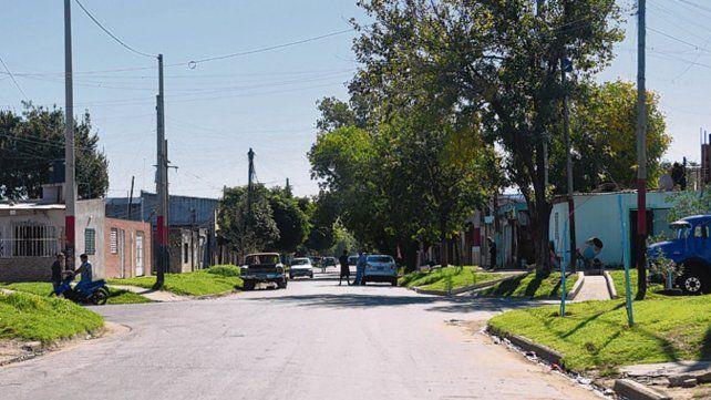 Zona sur. Acosta fue baleado frente a la casa de sus suegros