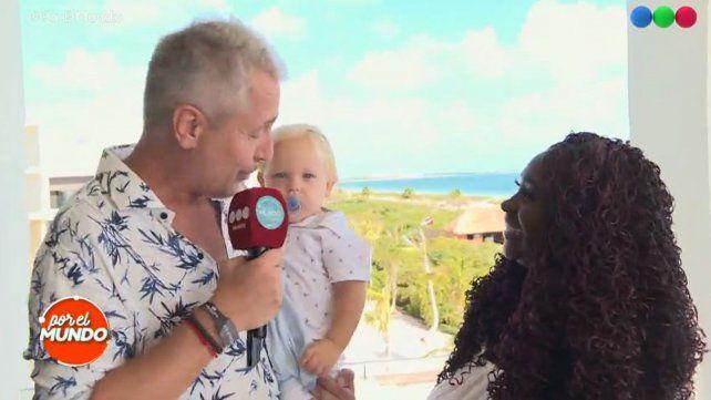 Marley presentó a la mujer que llevó a Mirko en su vientre
