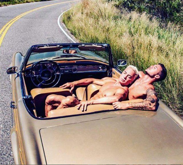 Flavio Mendoza generó polémica con una producción de fotos hot