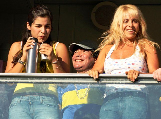 Claudia Villafañe denunció a Diego Maradona por violencia psicológica
