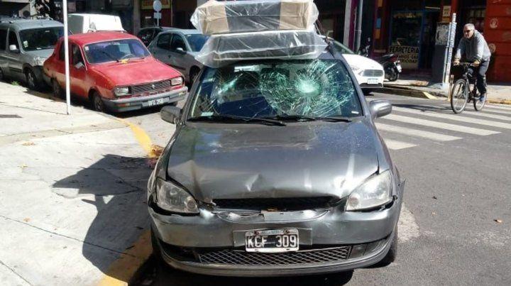El taxista increpó al dueño del vehículo