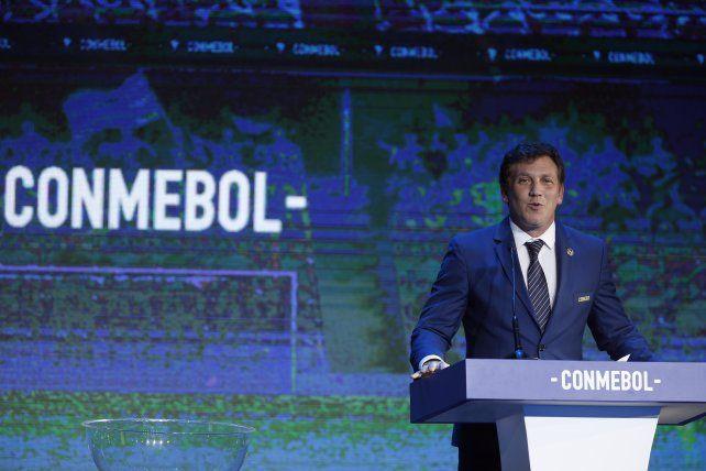 El titular de la Conmebol