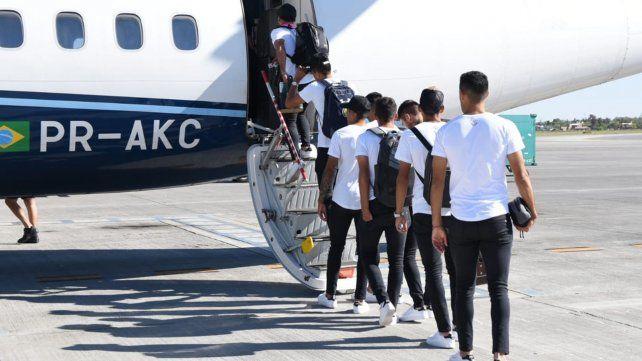 Central partió hacia Porto Alegre para jugar un partido decisivo