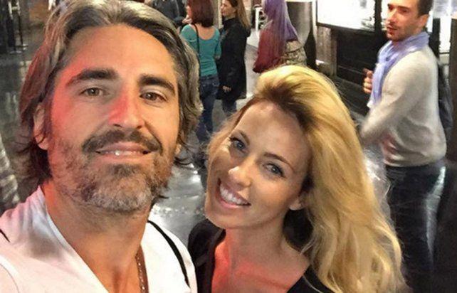 Nicolás Paladini con su esposa Rocío Guiirao Díaz.