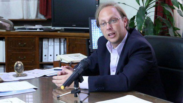 Saglione advirtió que la crisis impactará en las cuentas santafesinas