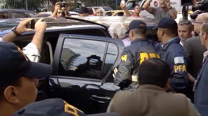 Ante el tribunal, Samid dijo que su causa se armó por razones políticas