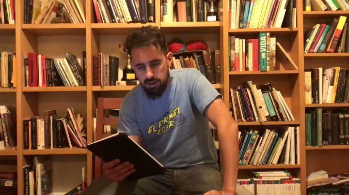 Juan Sklar, presentó su nueva novela