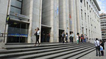 La audiencia se llevó a cabo en los Tribunales provinciales. (Foto de archivo)