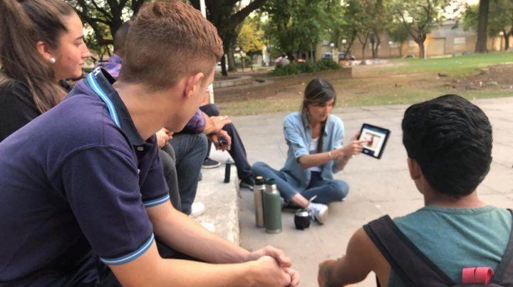 Promueven una plataforma digital para jóvenes que votan por primera vez