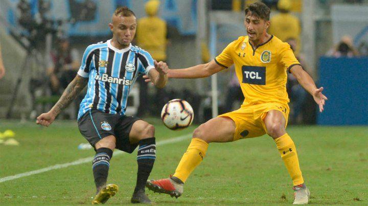 Si Gremio gana, Central se despide de la Libertadores