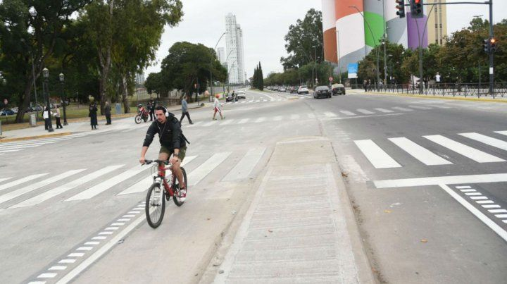 Inauguraron la Avenida de la Costa entre Oroño y Dorrego