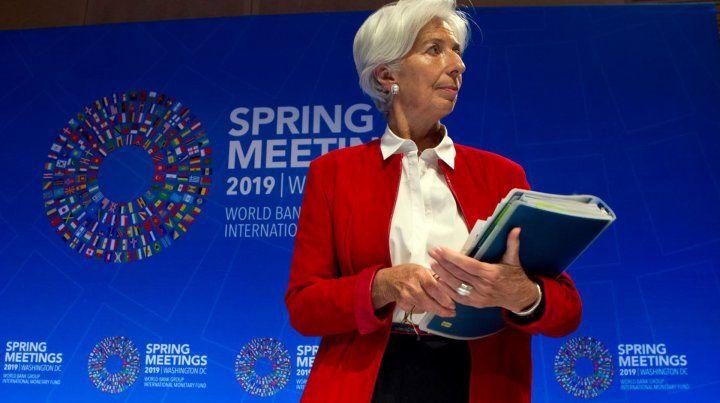 Lagarde envió un mensaje para los candidatos opositores a Macri