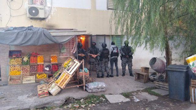 Cuatro allanamientos con cinco detenidos en zona sur por venta de droga
