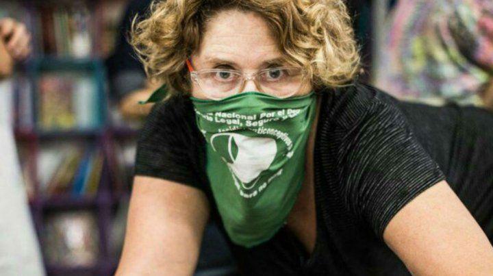 Llinás es una férrea militante en favor del aborto legal y seguro.