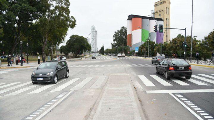 El último tramo de la avenida De la Costa fue inaugurado ayer.