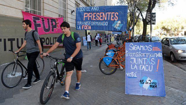 El socialismo estudiantil retrocedió en la UNR