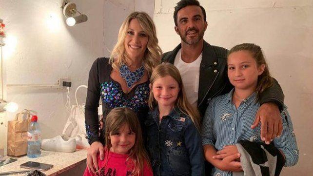 Mica Viciconte contó cómo es convivir con las hijas de Poroto Cubero