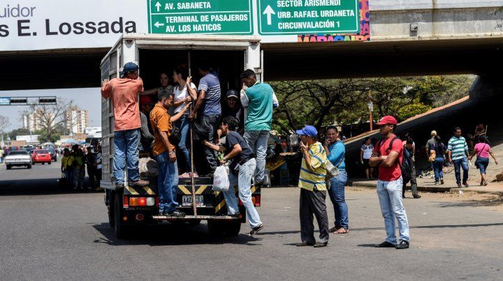 Emergencia. El transporte público en Maracaibo