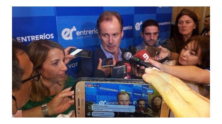 Bordet obtuvo un amplio triunfo en las Paso en Entre Ríos