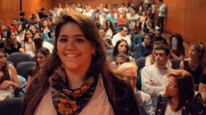 Macarena Dalaison será la nueva Secretaria General del Centro de Estudiantes de la Facultad de Derecho.
